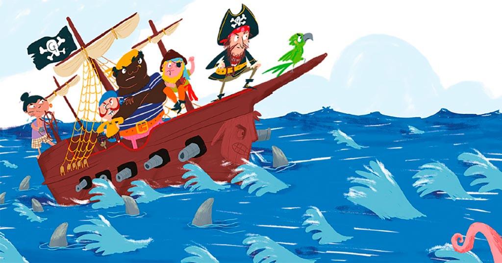 """A Contateca: """"Daniela pirata"""""""