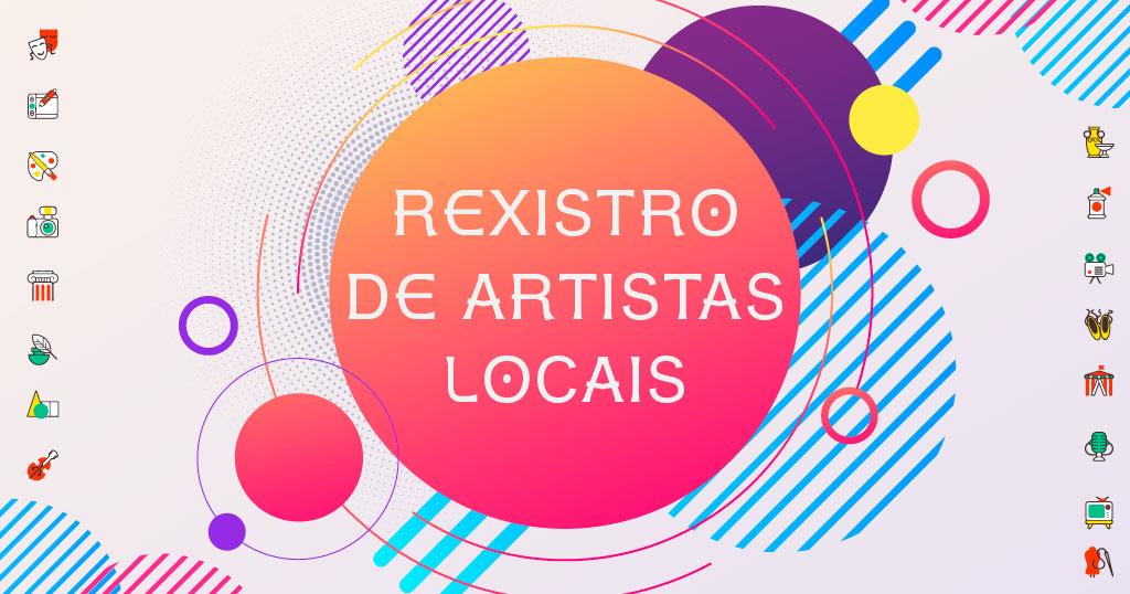 Rexistro de artistas locais