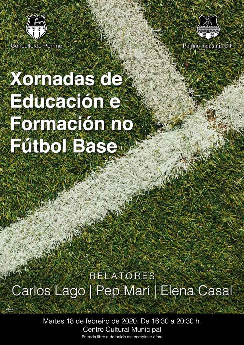 Xornadas de Educación e Formación no Fútbol Base