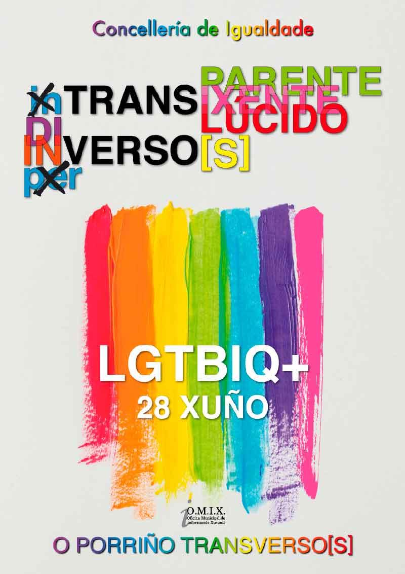 Celebración do Día Internacional do Orgullo LGTBIQ+