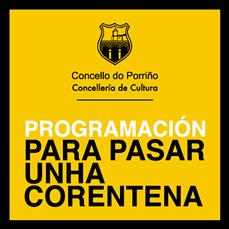 Programación cultural Abril 2020. Concello do Porriño