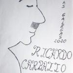 Debuxa celebrando o Día das Letras Galegas