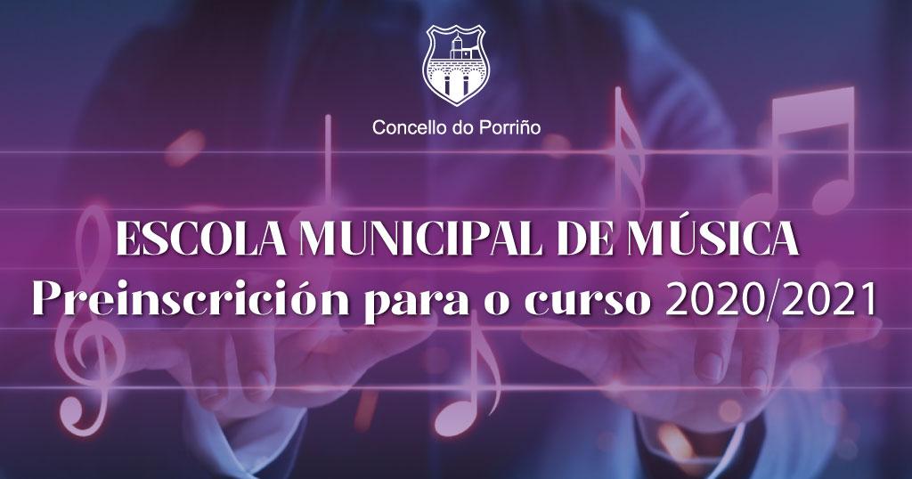 Preinscrición Escola Municipal de Música