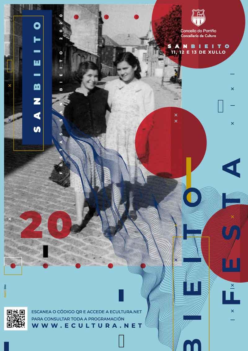 Cartel Festas de San Bieito 2020