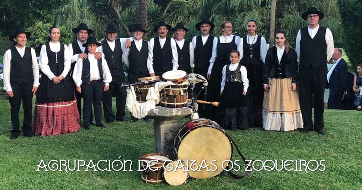 """Agrupación de Gaitas """"Os Zoqueiros"""""""