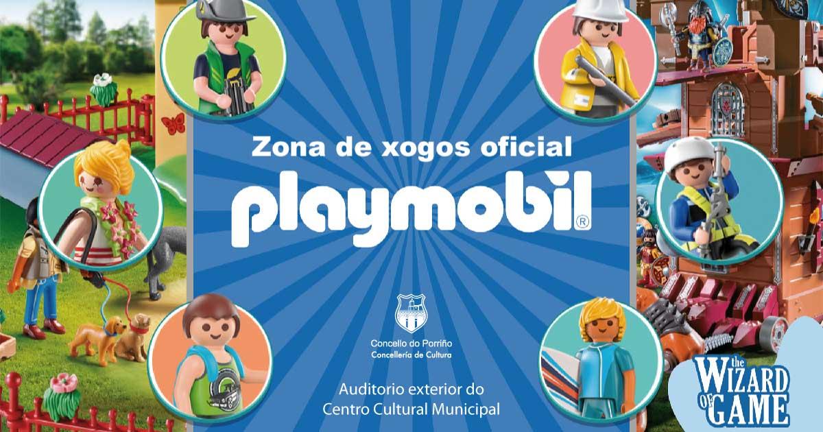 Zona de xogos oficial Playmobil