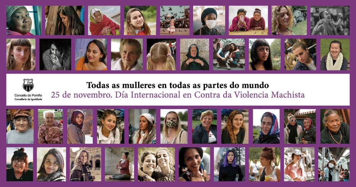 Conmemoración do Día Internacional da Eliminación da Violencia Contra a Muller 2020