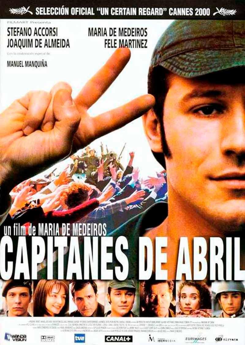 Proxección do filme: Capitanes de abril