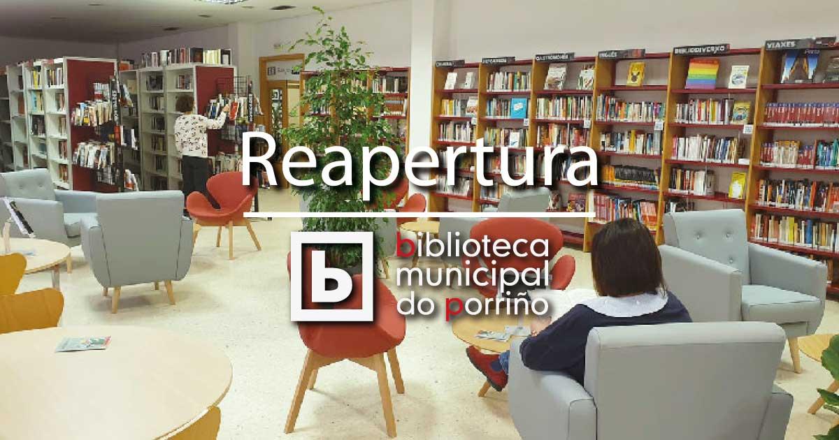 Reapertura da Biblioteca Municipal