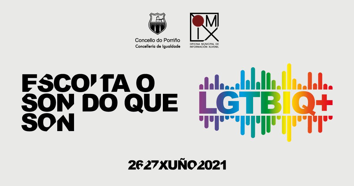 Celebración do Día Internacional do Orgullo LGTBIQ+ 2021