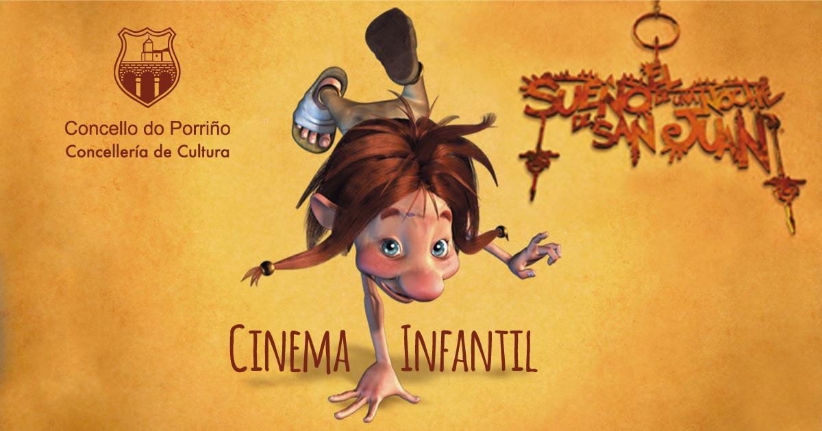"""Cinema infantil: """"O soño dunha noite de San Xoán"""""""