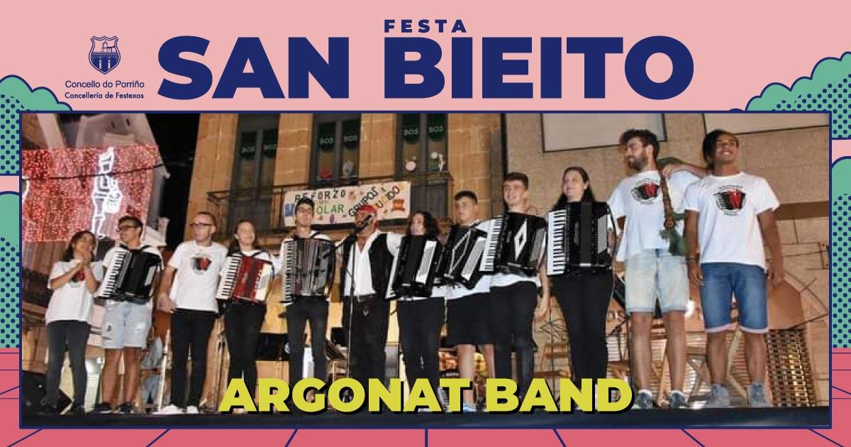 Concerto: Argonat Band. SAN BIEITO 2021