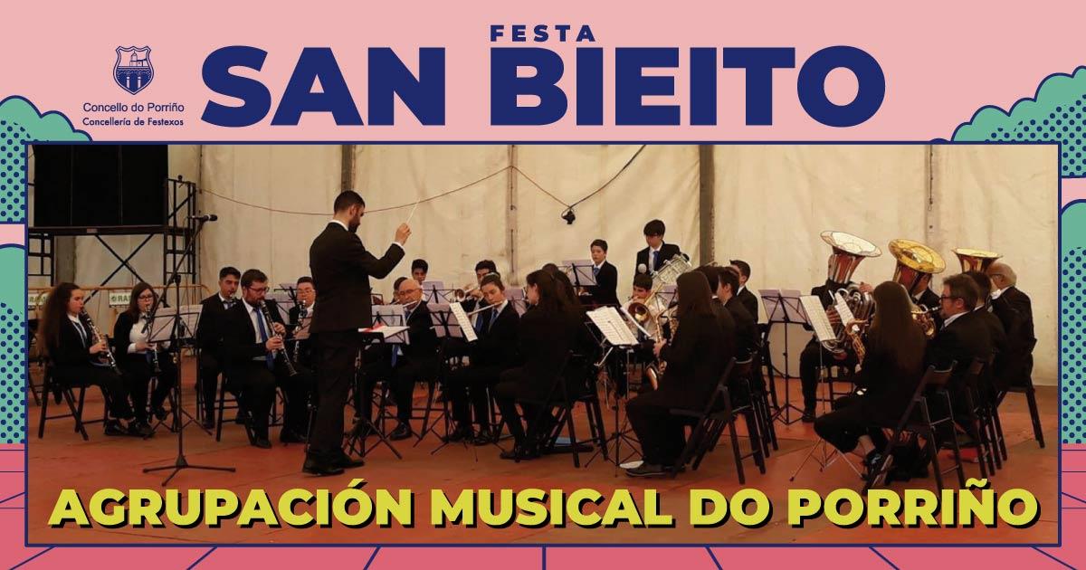 Concerto: Agrupación Musical do Porriño. SAN BIEITO 2021