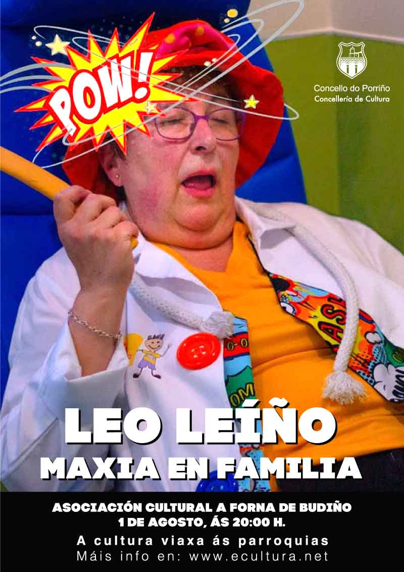 Maxia en familia con Leo Leiño
