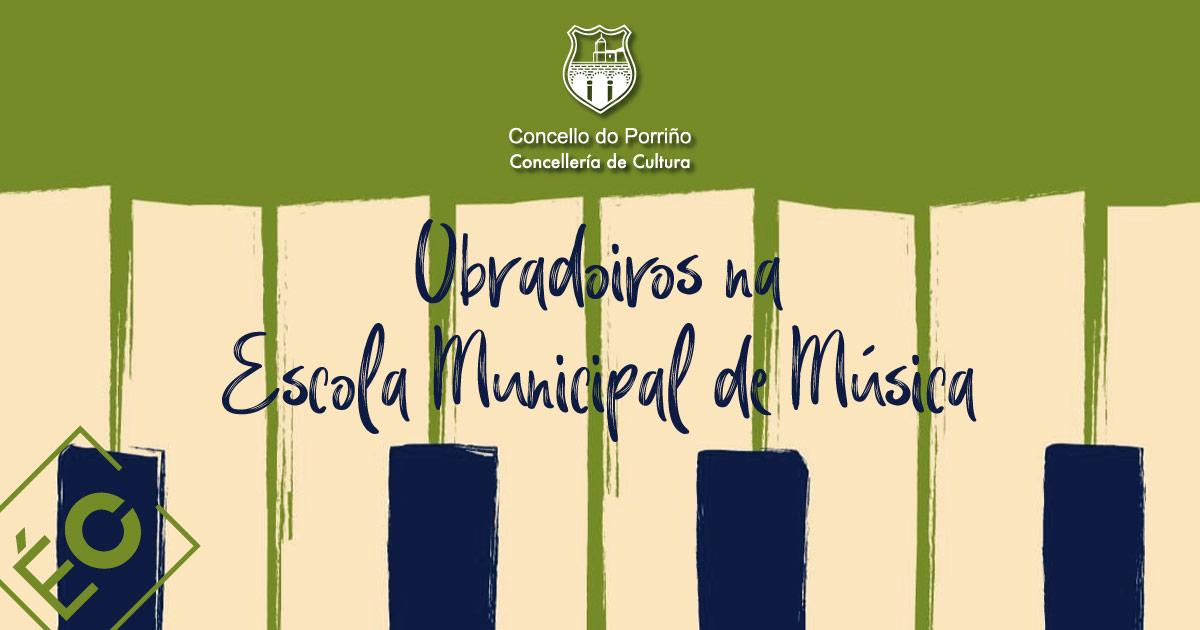 Obradoiros na Escola Municipal de Música