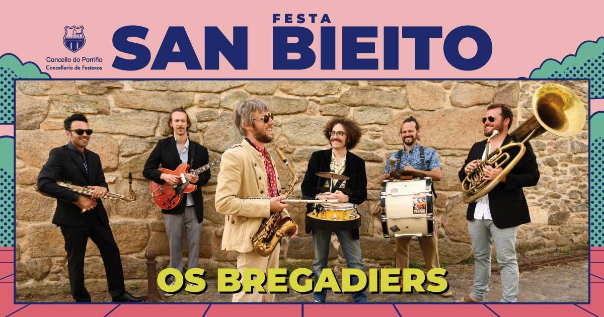 Concerto: Os Bregadiers. SAN BIEITO 2021
