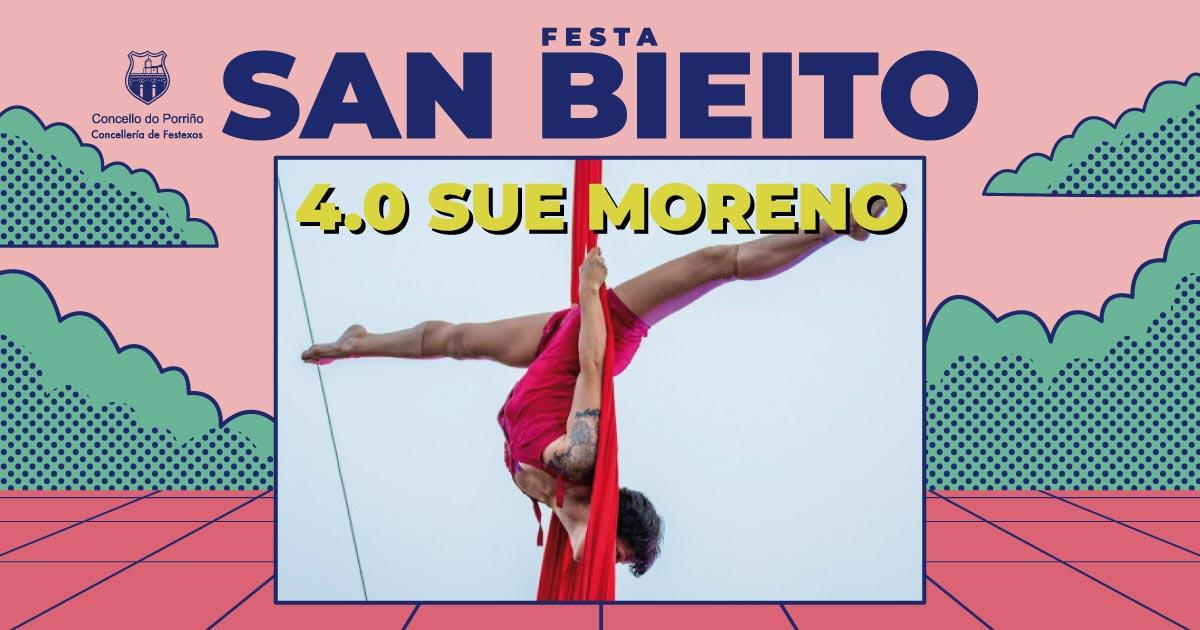 Espectáculo de novo circo: 4.0. SAN BIEITO 2021
