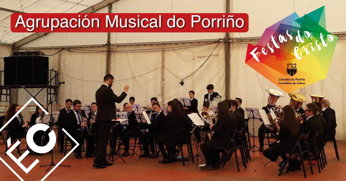 Agrupación Musical do Porriño. Festas do Cristo 2021. Concello do Porriño
