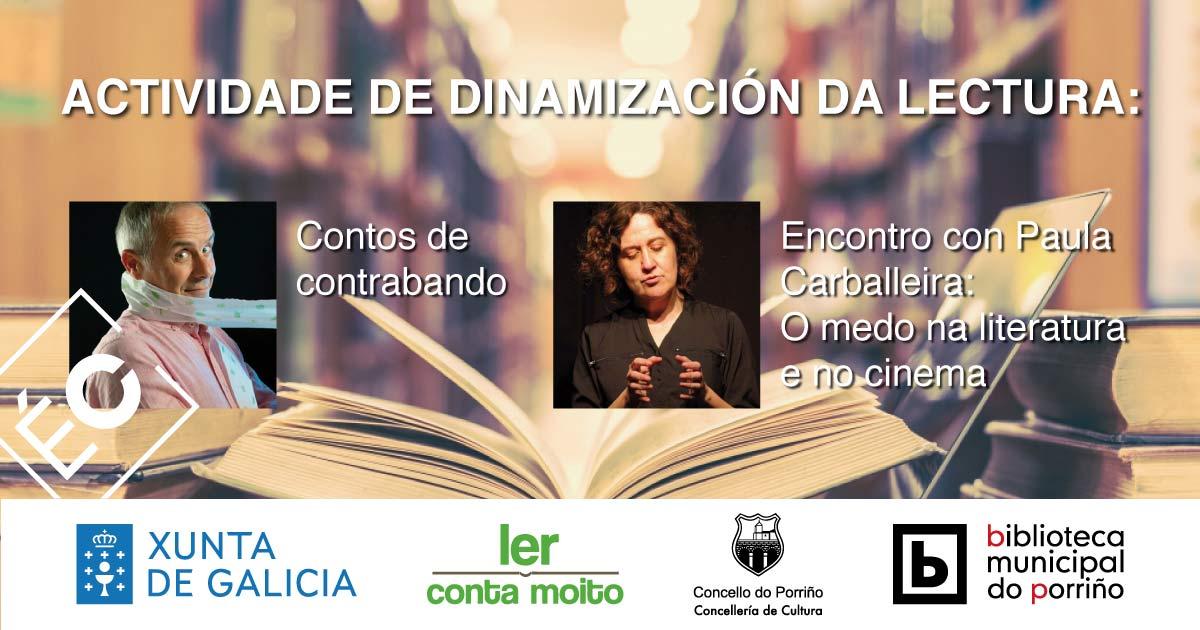 Actividade de dinamización da lectura: Contos de contrabando e encontro con Paula Carballeira