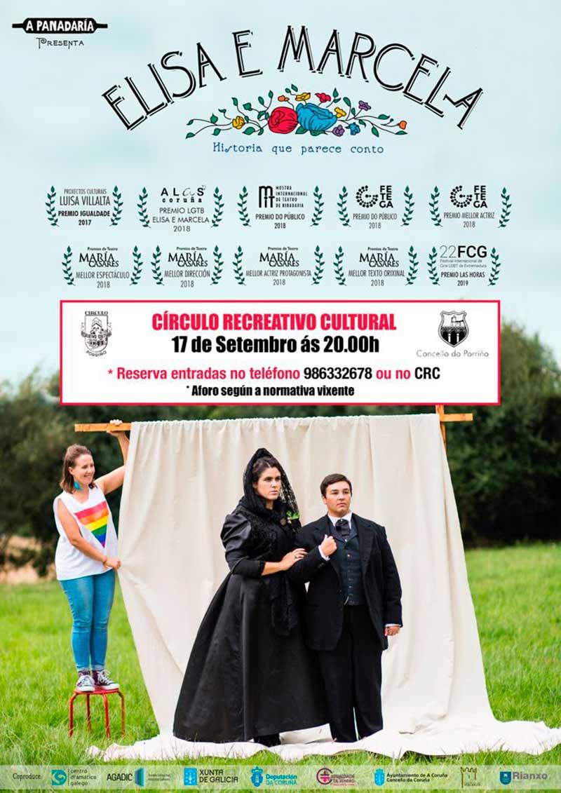 """""""Elisa e Marcela"""", da Cia. A Panadaría Teatro"""